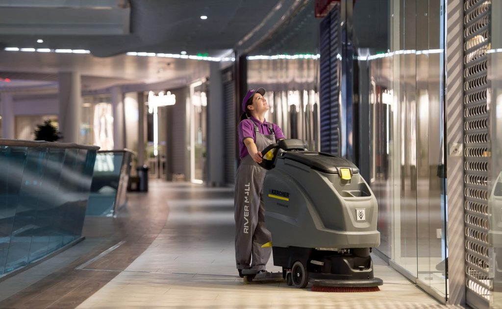 Cleaning Services for Shopping Centers