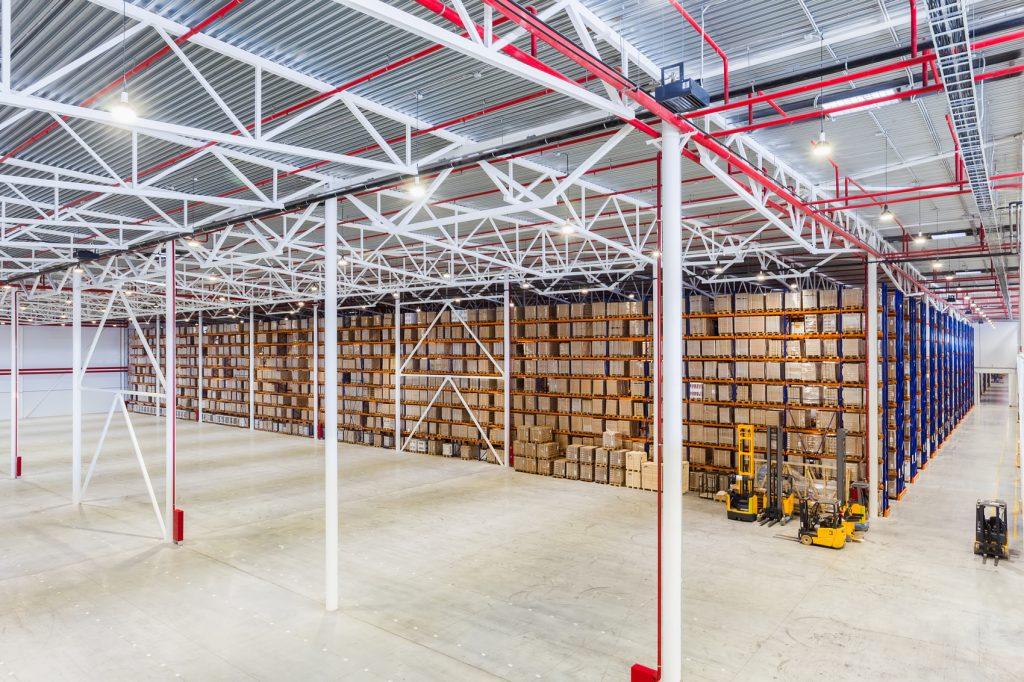 Уборка складов и логистических комплексов