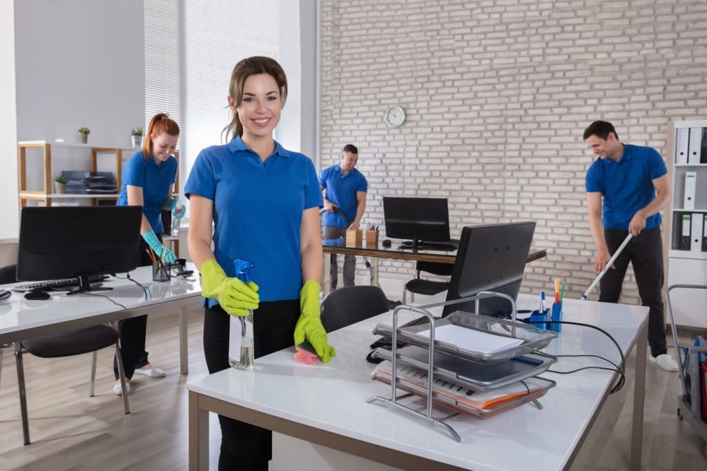 Cleaning Services for Business Centers