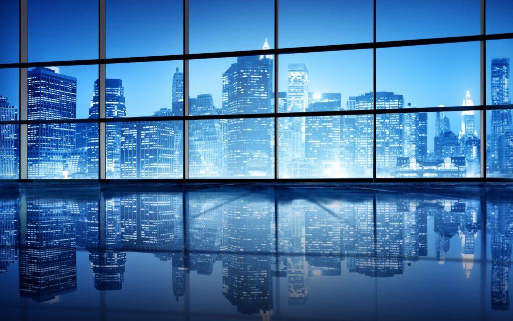 Правила мийки вікон в комерційних будівлях