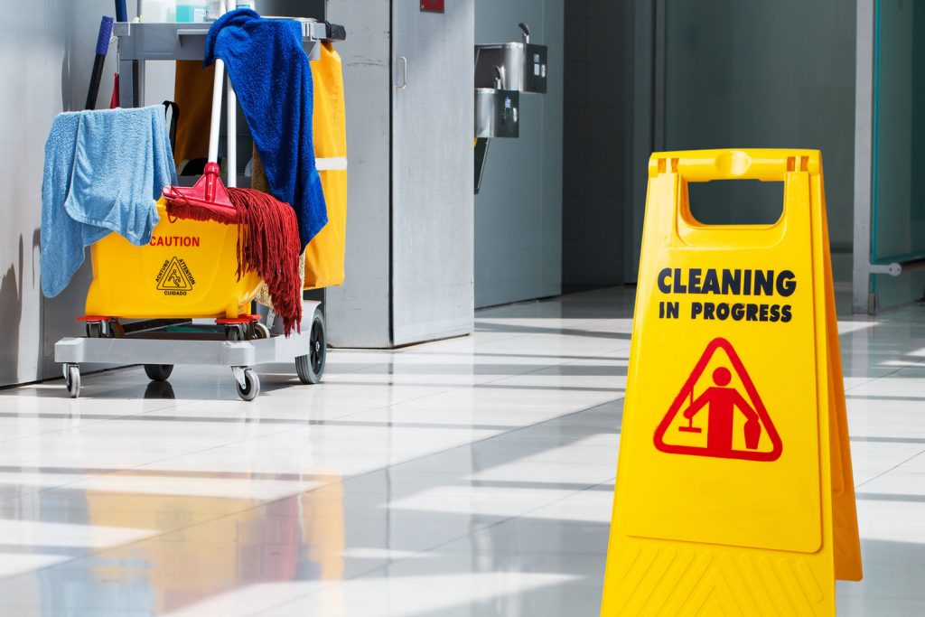 Who is a cleaning manager?