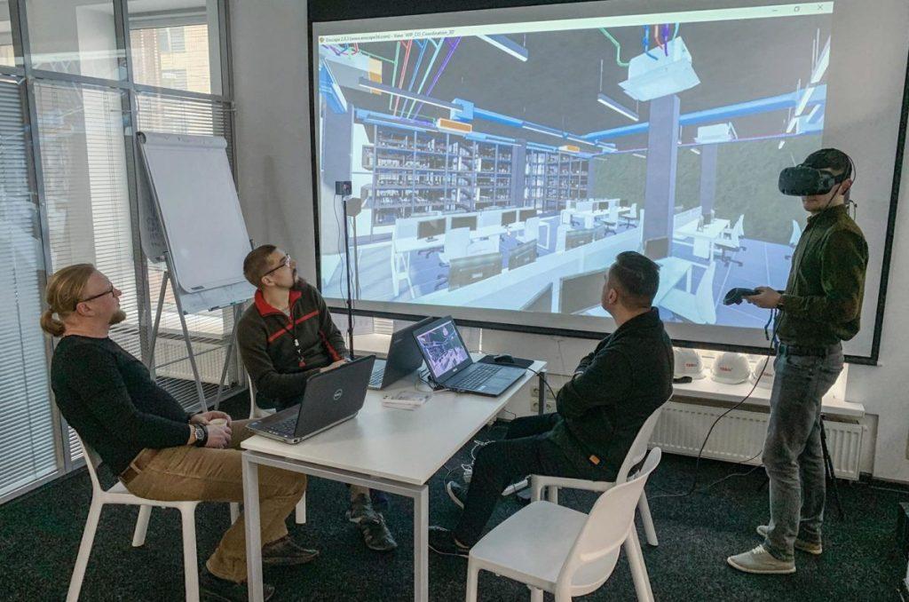 Технології віртуальної реальності і відображення тенденцій в фасіліті менеджменті