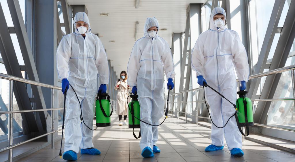 Клининг в условиях пандемии. Что должно измениться