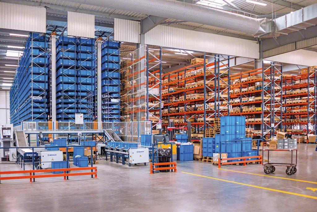 Автоматизированные решения для обслуживания складских объектов
