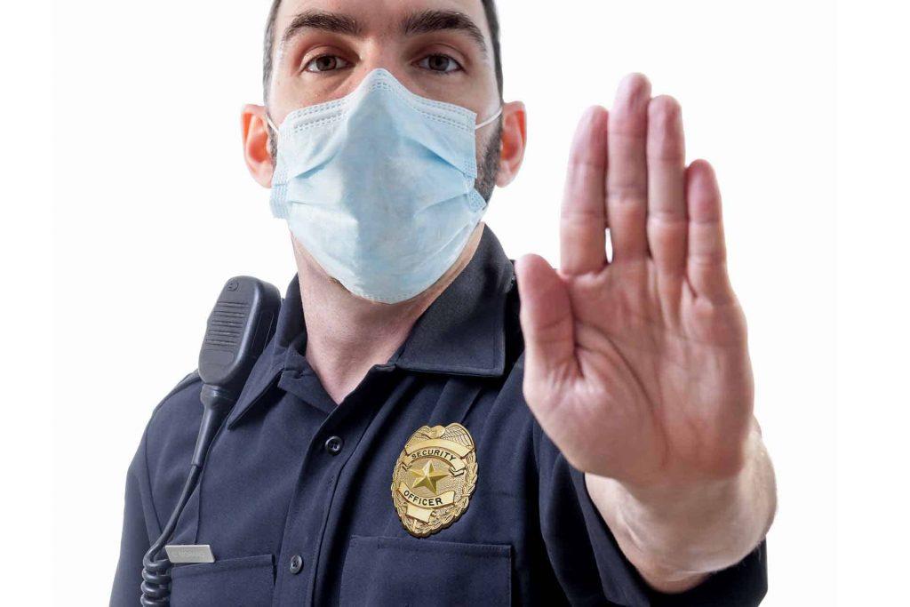 Физическая охрана, как важный элемент борьбы с коронавирусом