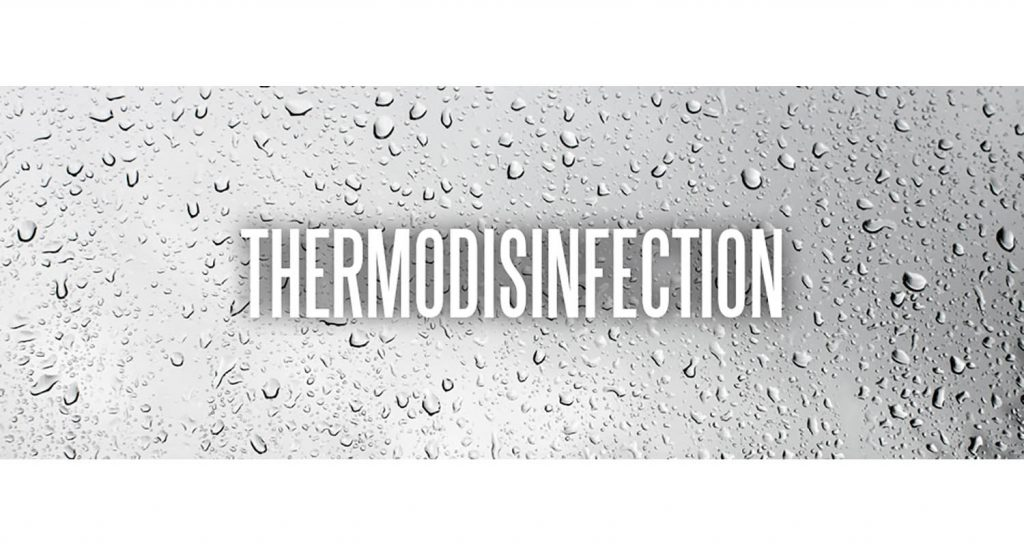 What is thermal disinfection?