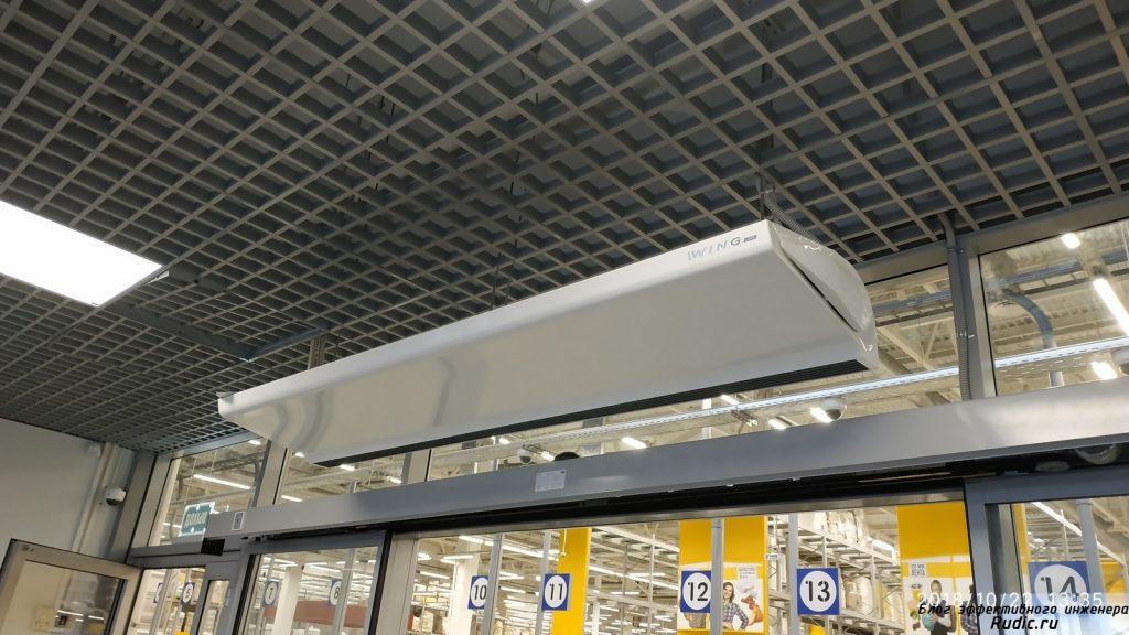 Воздушные завесы, как эффективное средство защиты от коронавируса