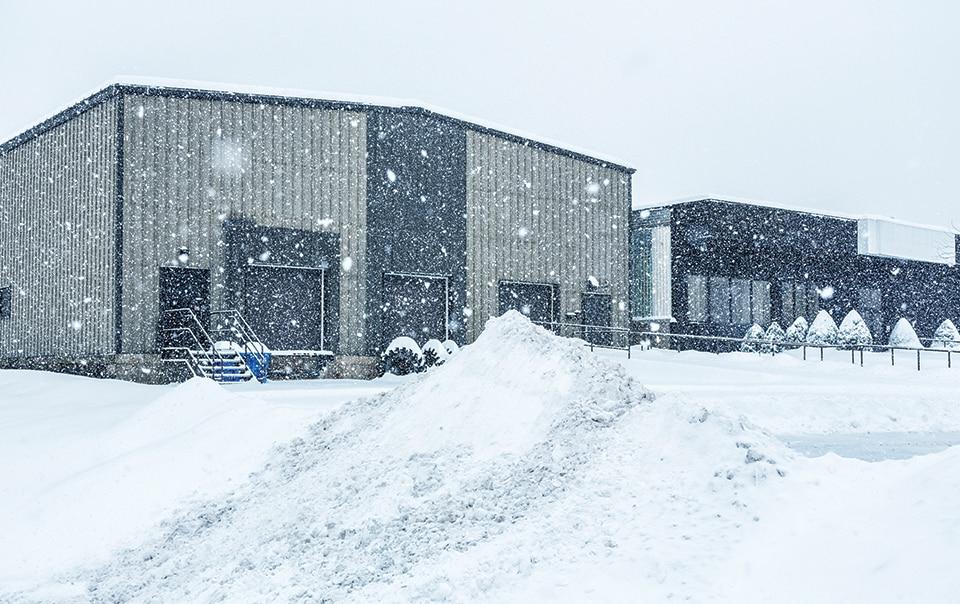 Особенности обслуживания зданий в зимний период